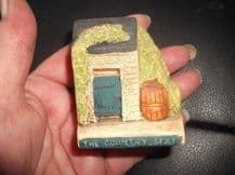 COLLECTABLE PHILIP LAURESTON MINIATURE COTTAGE THE COUNTRY SEAT UK EV 743 2.25""