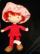 """COLLECTABLE RAG DOLL STRAWBERRY SHORTCAKE 2003 BERRY BEST FRIENDS 11"""""""