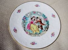 ELEGANT GILDED DISPLAY PLATE ROYAL DOULTON VALENTINE'S DAY 1979 EX COND