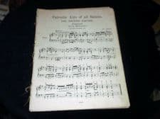 RARE ANTIQUE SHEET MUSIC BOOKLET PATRIOTIC AIRS OF ALL NATIONS 50 PIECES