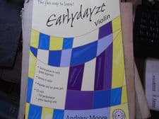 SHEET MUSIC BEGINNER VIOLIN & PIANO PARTS EARLYDAYZE 12 PIECES FUN WAY TO LEARN