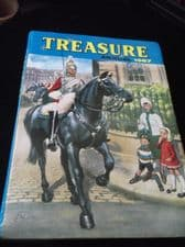VINTAGE COLLECTABLE TREASURE ANNUAL 1967 FLEETWAY 1966 CLIPPED