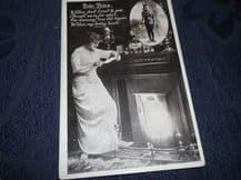 VINTAGE POSTCARD WWI EVER THINE POEM ARMY UNPOSTED