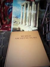 WHOPPER HEAVY HB DC BOOK ILLUSTRATED HISTORY WORLD ARCHITECTURE 1968 COPPLESTONE