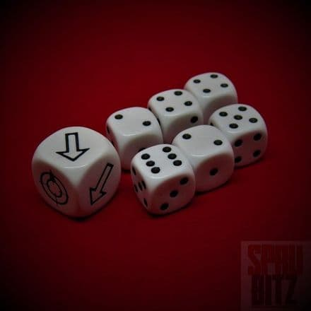 Assault on Black Reach Dice Set