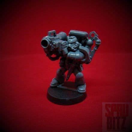 Assault on Black Reach Missile Launcher Space Marine