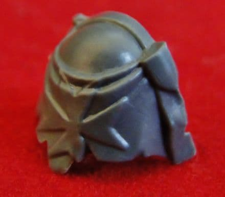 Black Templar Space Marine Sash & Chapter Icon Shoulder Pad x1