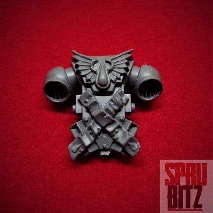 Blood Angel Death Company Backpack (chapter symbol)