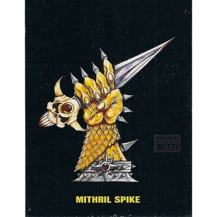 Blood Bowl DeathZone Mithril Spike Cup Trophy Card