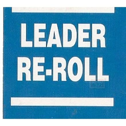 Blood Bowl Leader Re-Roll Re Roll Counter Card Blue