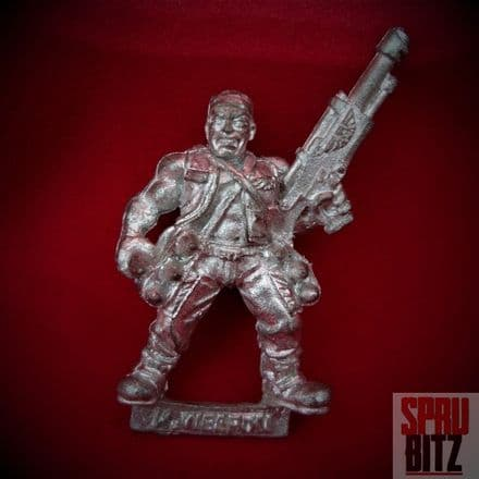 Catachan Jungle Fighter Heavy Weapon Crew (metal)
