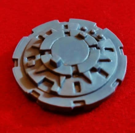 Chaos Space Marine Tank Vehicle Closed Hatch Plate