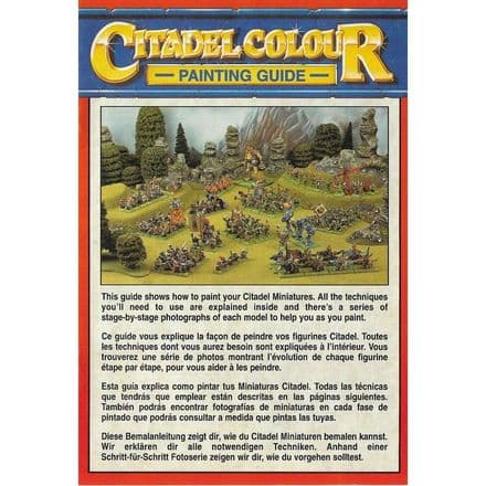 Citadel Colour Painting Guide Pamphlet (1994)