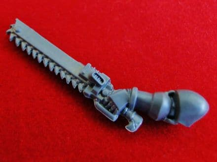 Command Devastator Squad Left Arm Chainsword