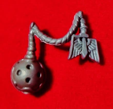 Dark Angel Veterans Small Incense Ball & Chapter Symbol Accessory