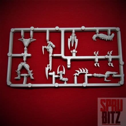 Dark Eldar Warrior Sprue from Warhammer 40,000 3rd Edition (A)