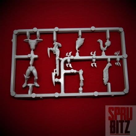 Dark Eldar Warrior Sprue from Warhammer 40,000 3rd Edition (C)
