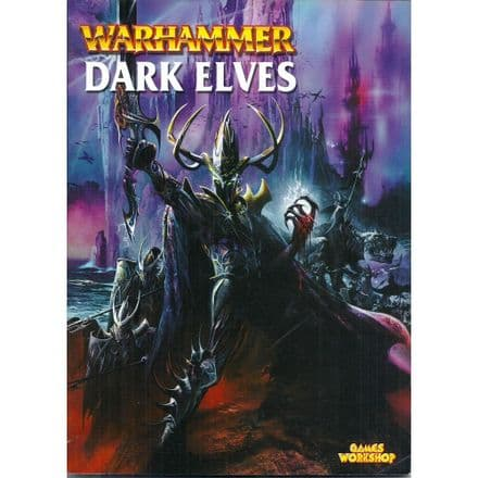 Dark Elves Warhammer Armies Rulebook 2001