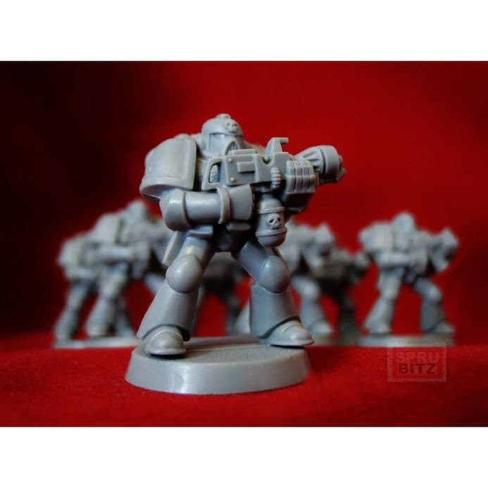 Flamer Space Marine from Warhammer 40,000 2nd Edition