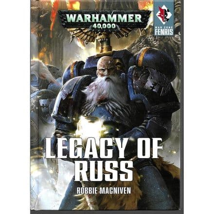 Legacy of Russ by Robbie MacNiven (2016 Hardback) Space Wolves