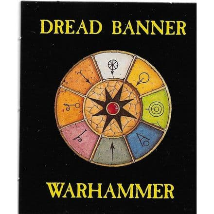 Magic Card Dread Banner from Warhammer 5th Edition