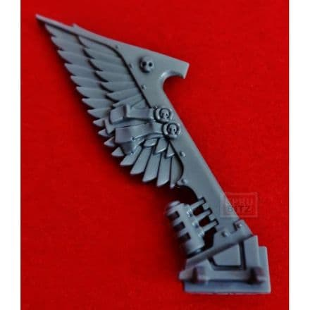 Ravenwing Command Squad Bike Wing Tail Banner (A)