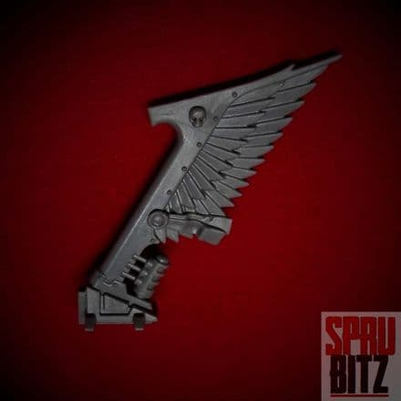 Ravenwing Command Squad Bike Wing Tail Banner (C)