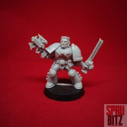 Scout Sergeant Captain from Space Hulk (1991)