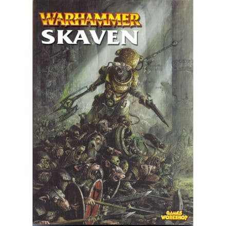 Skaven Warhammer Armies Rulebook rule book (2002)