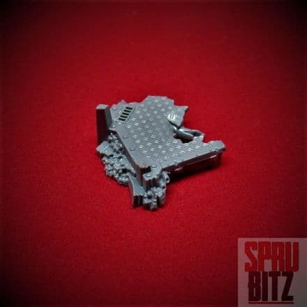 Space Marine Assault Squad Base Terrain Plinth (E)