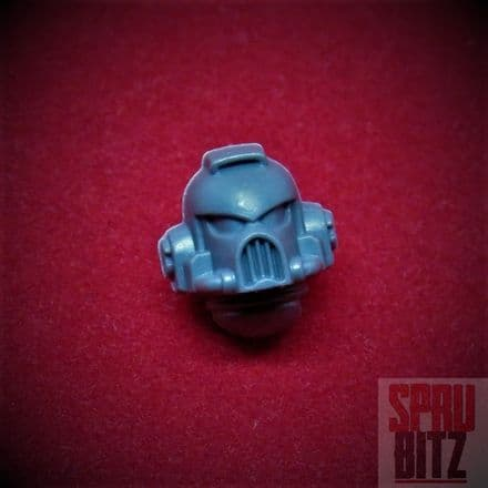 Space Marine Assault Squad Helmet Head plain (2014)