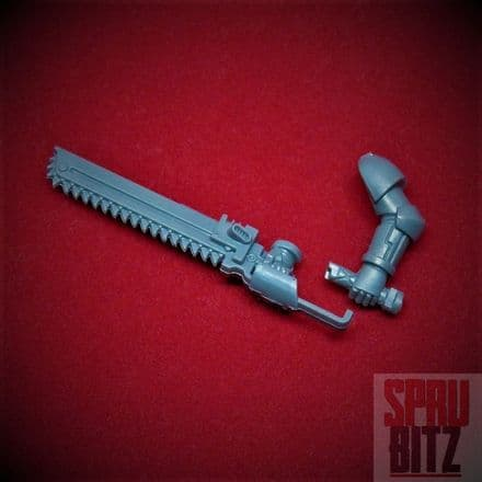 Space Marine Assault Squad Two-Handed Chainsword