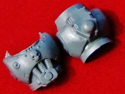 Space Marine Body Torso (Skull) front and back