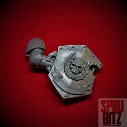Space Marine Command Squad Shield Bolter right arm
