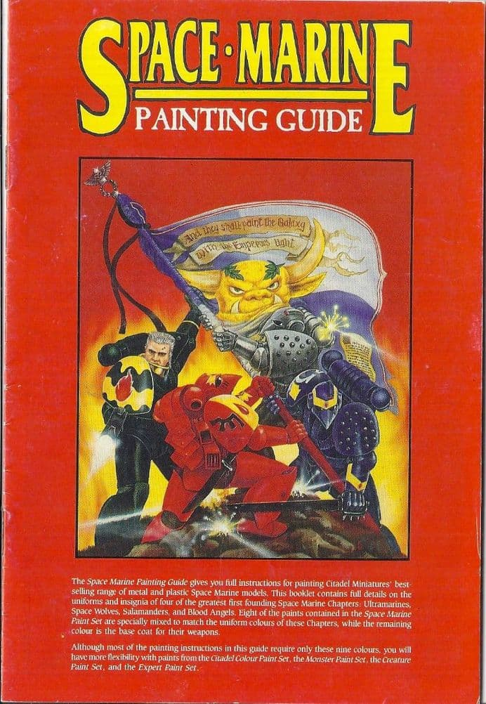 Space Marine Painting Guide (1989) Rogue Trader