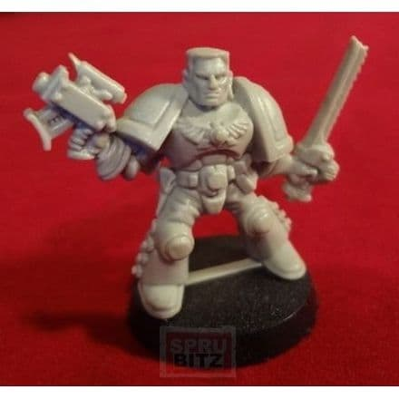 Space Marine Scout Sergeant Captain from Space Hulk (1990s)