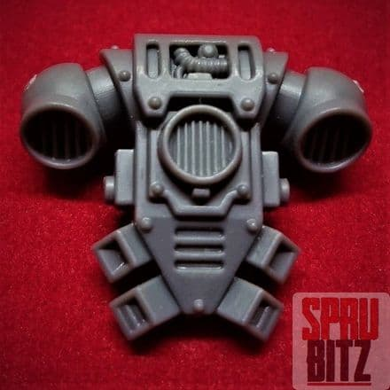 Space Marine Tactical Squad Backpack (C)