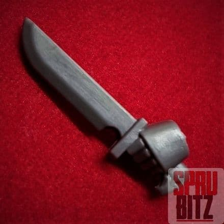 Space Marine Tactical Squad Left Hand Combat Knife