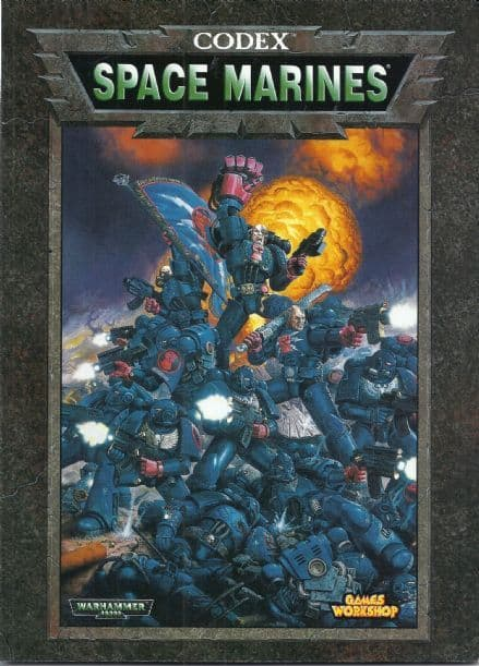 Space Marines Codex rulebook 1998