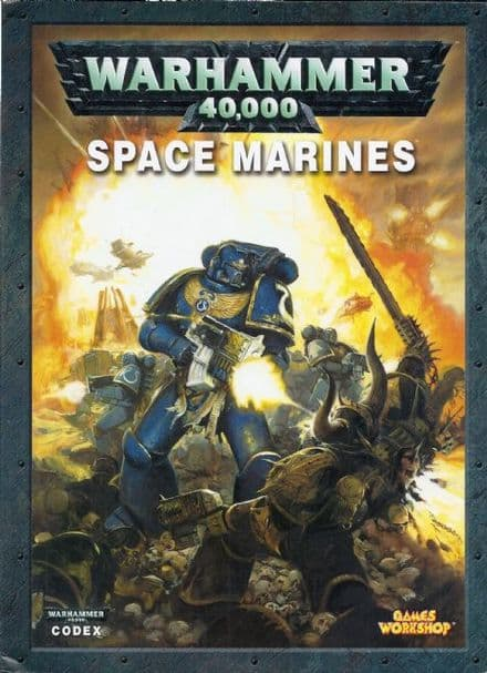 Space Marines Codex Rulebook 2008