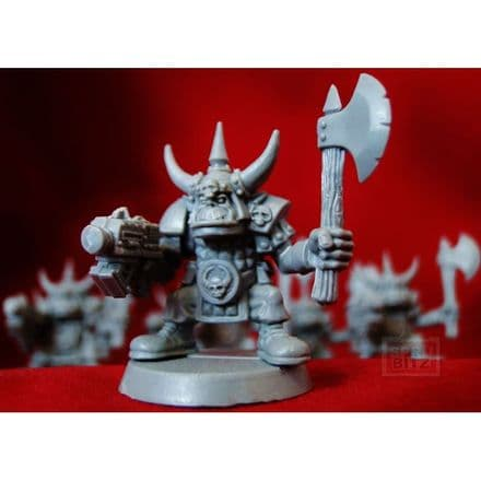 Space Ork Goff from Warhammer 40,000 2nd Edition