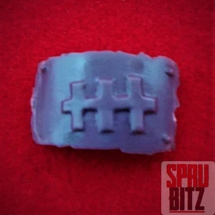 Space Ork Nobz Armour Plate (C)