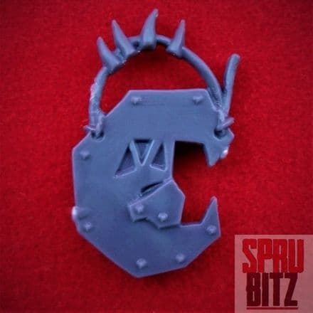 Space Ork Nobz Bosspole Top (C)