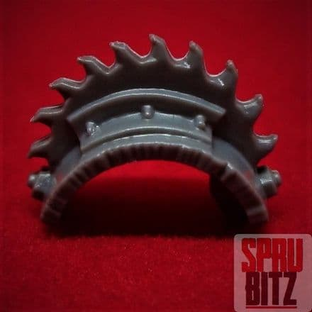 Space Ork Nobz Shoulder Pad with Spikes (A)