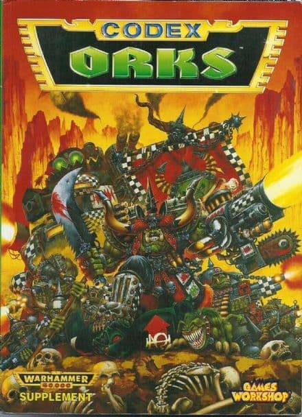 Space Orks Codex Rulebook 1994