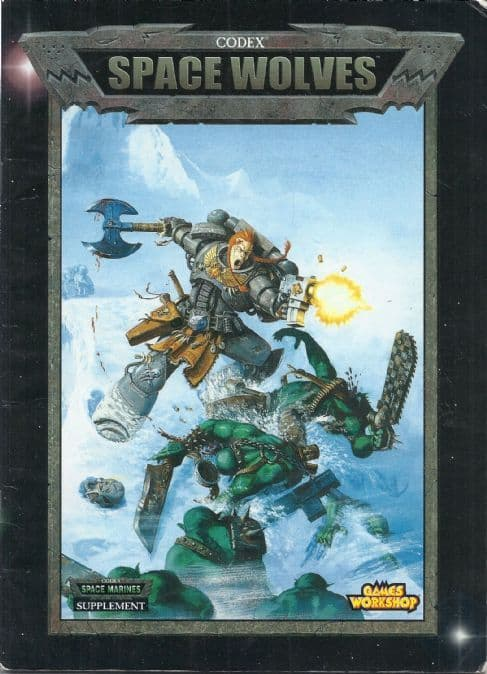 Space Wolf Wolves Codex Rulebook 2000