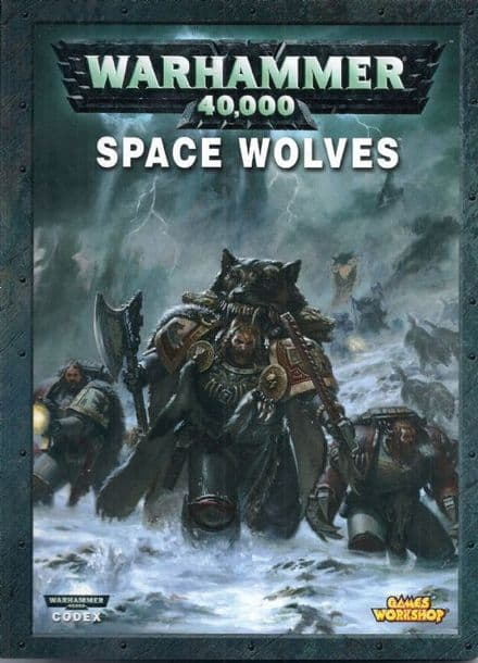 Space Wolf Wolves Codex Rulebook 2009