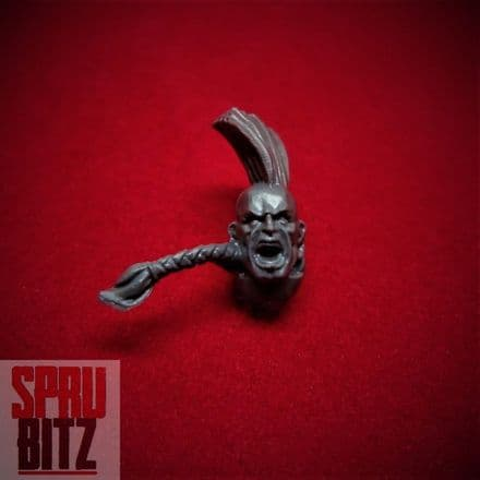 Space Wolves Wolf Head Ponytail (B)