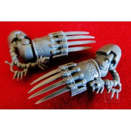 Space Wolves Wolf Terminator Lightning Claws Set B