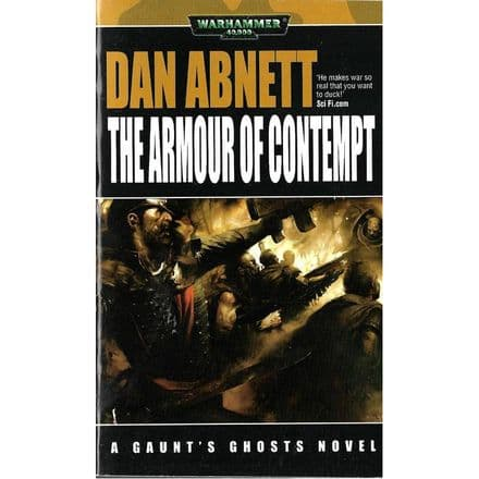 The Armour of Contempt A Gaunt's Ghosts Novel by Dan Abnett book (2007)
